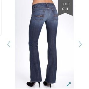7 for all mankind flare Jean's Sz 29